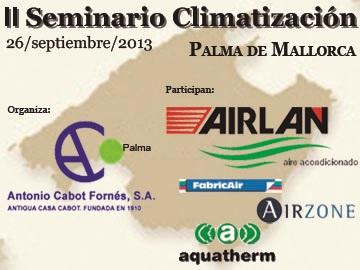 II SEMINARIO DE CLIMATIZACIÓN EN MALLORCA