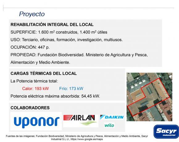 PREMIOS DE GEOTERMIA DE LA COMUNIDAD DE MADRID