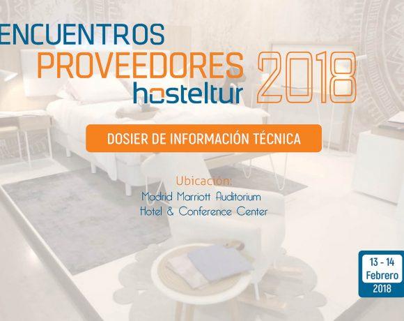 ENCUENTRO PROVEEDORES HOSTELTUR 2018