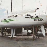 Nuevo design para el barco Airlan/Aermec