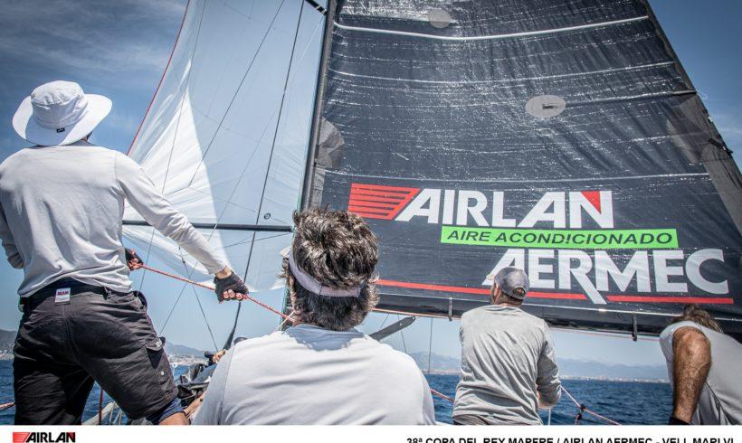 Nuevo design para el barco Airlan/Aermec en la 38 edición de la Copa del Rey Mapfre