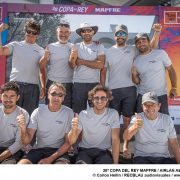 El barco Airlan/Aermec  llega segundo en la 38 Copa del Rey Mapre